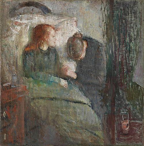 Edvard Munch, Das kranke Kind
