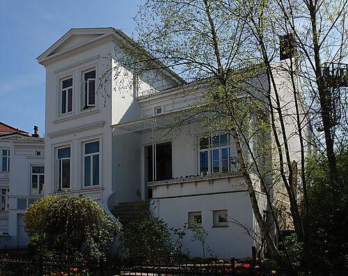"""Das Haus Paula Beckers in der """"Schwachhauser Chaussee 23"""""""