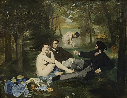 Edouard Manet, Das Frühstück im Grünen