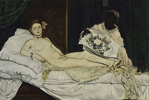 Eduard Manet, Olympia