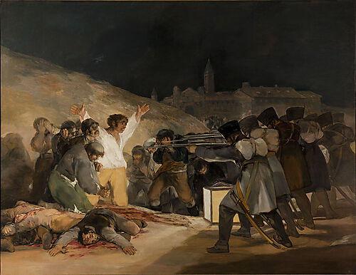 Francisco Goya: Erschießung der Aufständischen am 3. Mai 1808 in Madrid