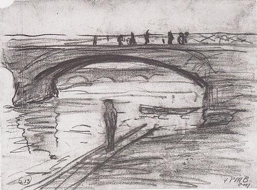 Paula Modersohn-Becker, Seine-Brücken in Paris