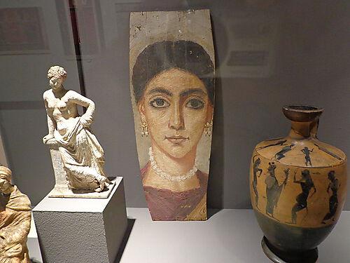 Mumienporträt aus dem Fayyum-Becken, Ägypten