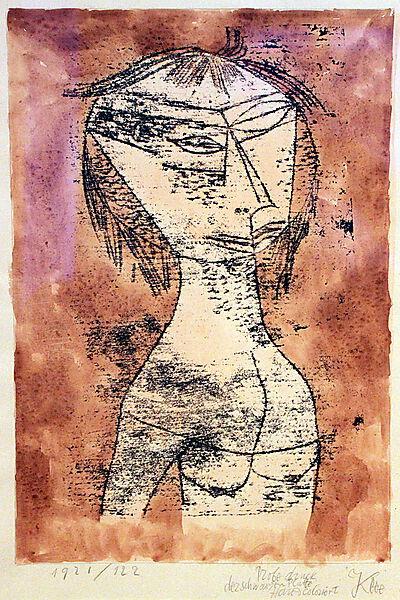 Paul Klee, Die Heilige vom innern Licht