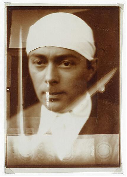 El Lissitzky, Self-Portrait