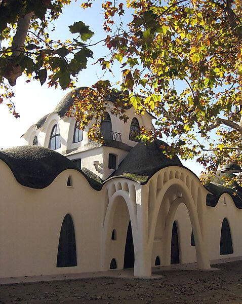 Jugendstilarchitektur: Masia freixa in Terrassa