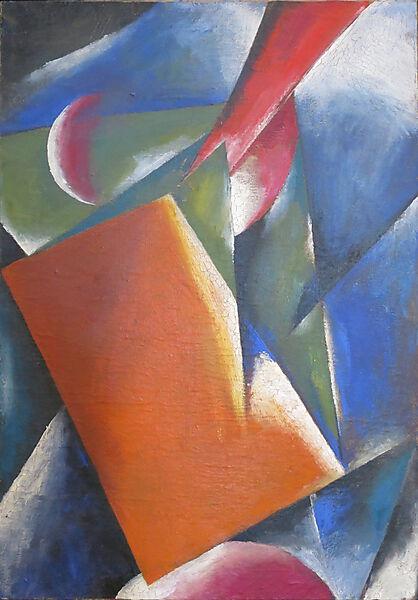 Lyubov Popova, Architectonic Painting