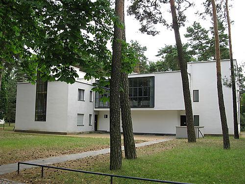 Wohnhaus der Bauhausmeister Paul Klee und Wassily Kandinsky in der Meisterhaussiedlung