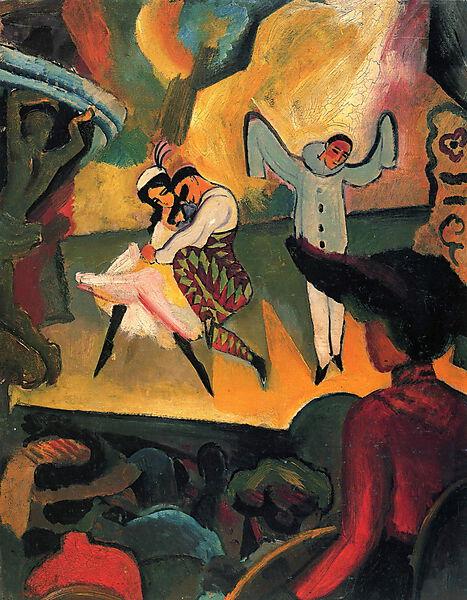 August Macke, Russisches Ballett 1