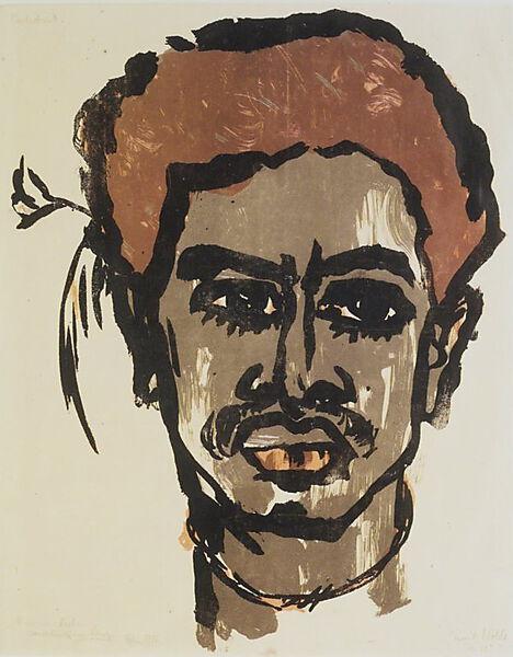 Emil Nolde, South Sea Islander
