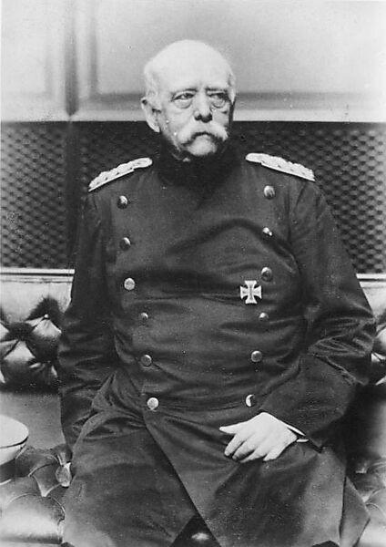 Otto von Bismarck, Fürst: Reichskanzler, Deutschland