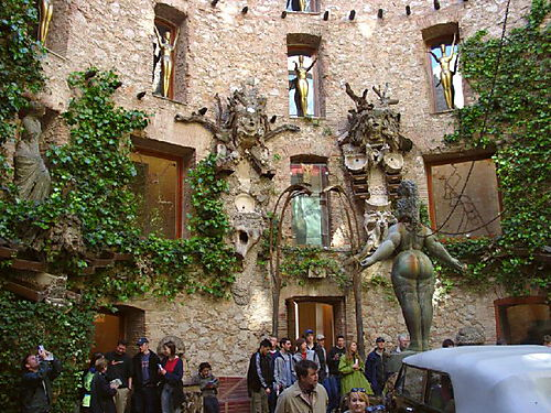 Dali Museum Figueres (nähe Barcelona)