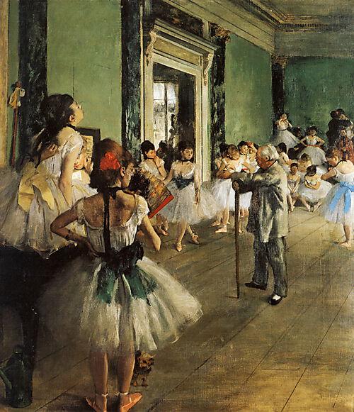 Edgar Degas, Die Tanzklasse