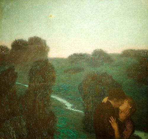 Franz von Stuck, Der Abendstern