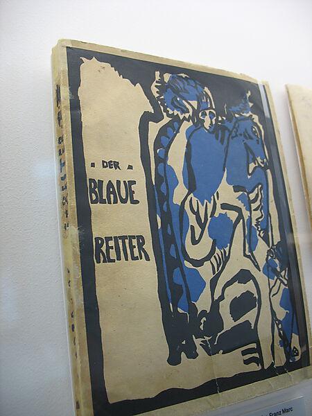 Almanach Der Blaue Reiter (1912), Covergestaltung von Wassily Kandinsky