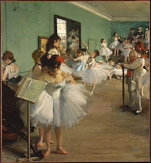 Edgar Degas, Die Tanzstunde
