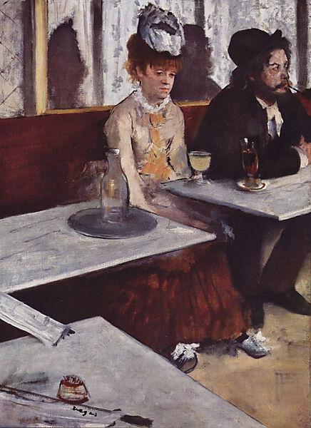 Edgar Degas, Der Absinth