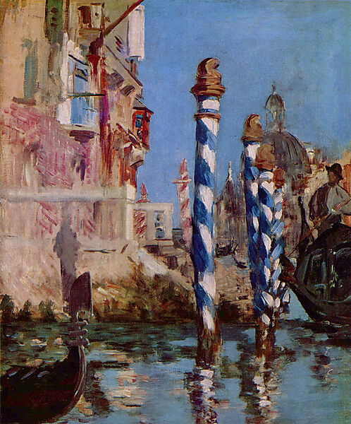 Édouard Manet, Grand Canal in Venedig