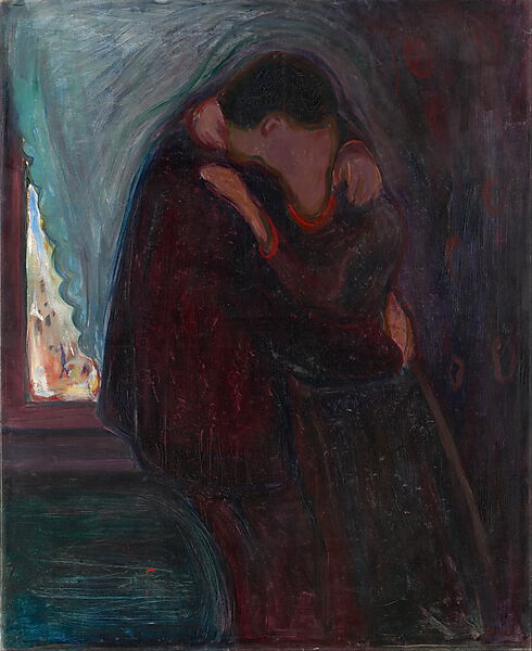 Edvard Munch, Der Kuss