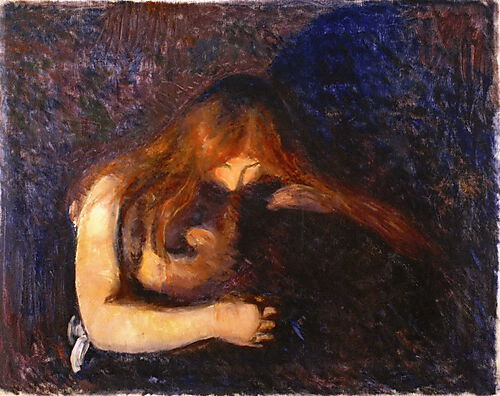 Edvard Munch, Vampyr