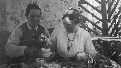 Wassily Kandinskys: Fotografie von Franz und Maria Marc