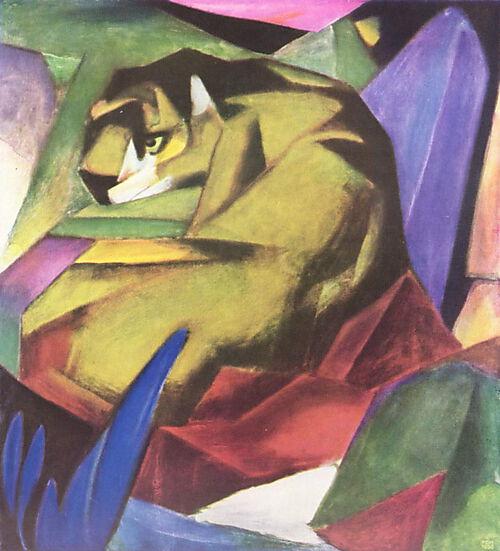 Franz Marc, Tiger