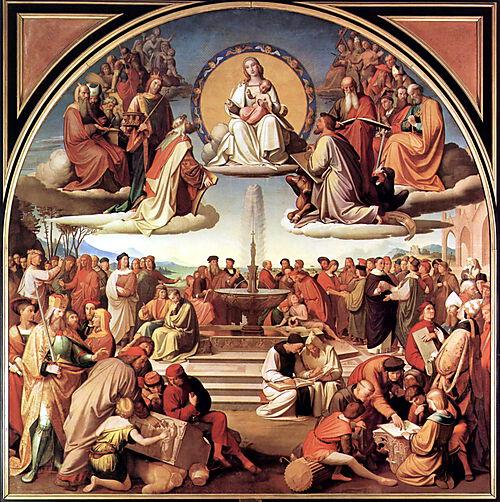 Triumph der Religion in den Künsten