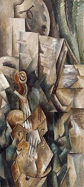 Georges Braque, Violin and Palette