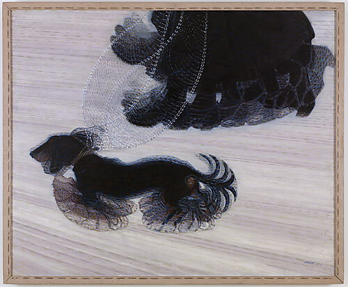 Giacomo Balla, Dynamism of a Dog on a Leash
