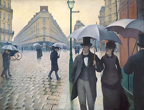 Gustave Caillebotte, Rue de Paris, temps de pluie, 1877
