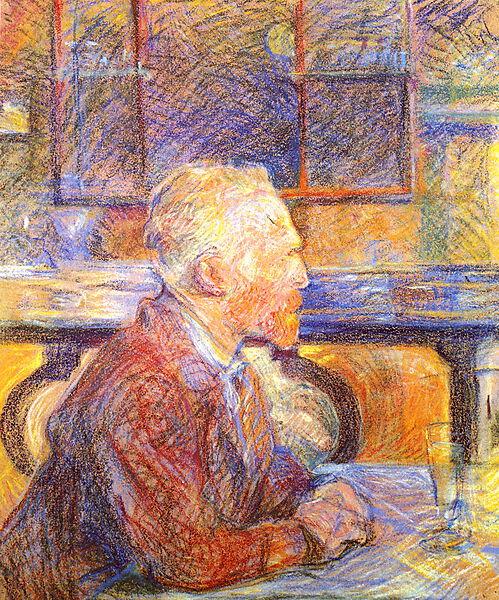 """Henri de Toulouse-Lautrec: """"Porträt des Vincent van Gogh"""""""