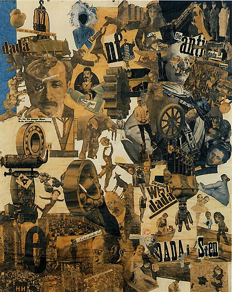 Hannah Höch, Cut with the Kitchen Knife Dada through the Beer-Belly of the Weimar Republic