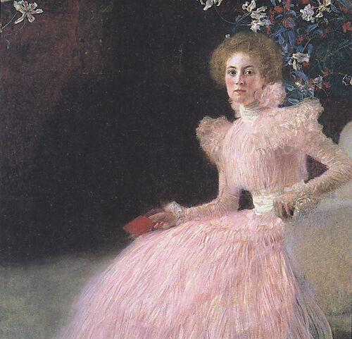 Gustav Klimt, Bildnis Sonja Knips