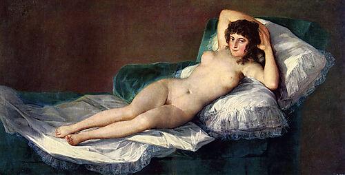 Francisco de Goya, Die Nackte Maya