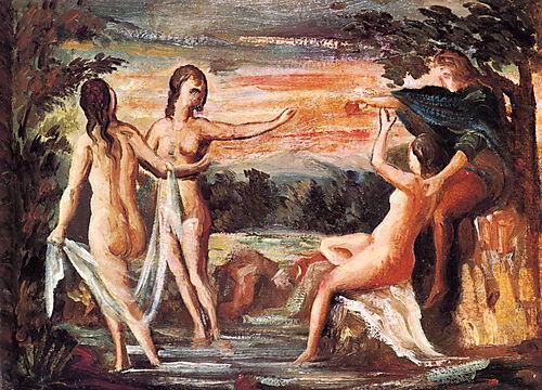 Paul Cézanne, Urteil des Paris