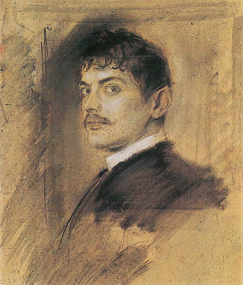 """Franz von Lenbach, """"Franz von Stuck"""""""