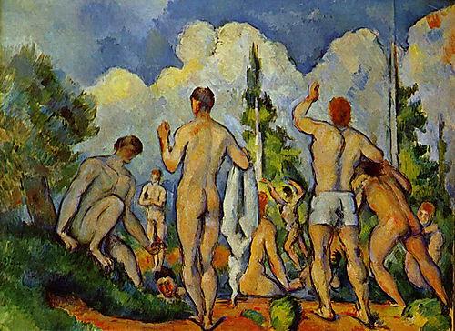 Paul Cézanne, Badende