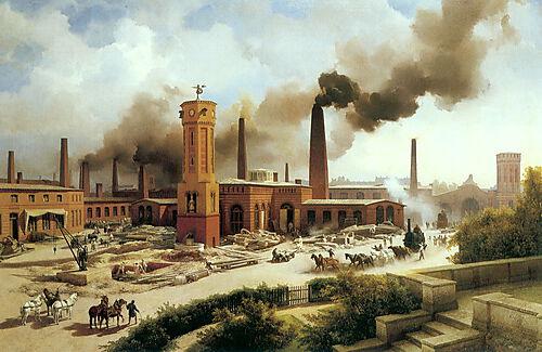 Lokomotivfabrik von August Borsig