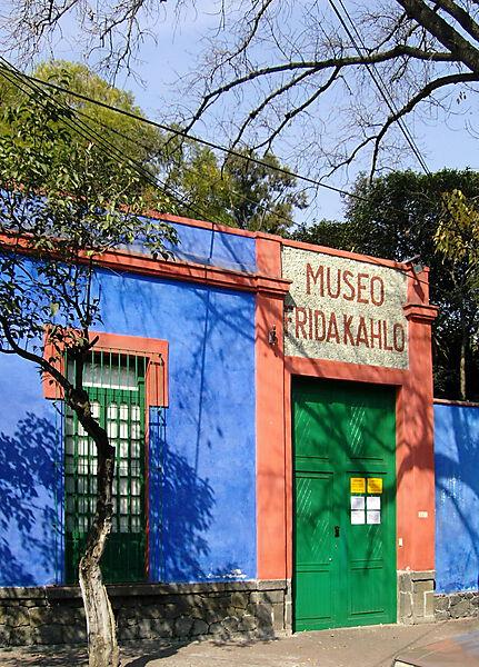 Fotografie: Frida Kahlos Geburtshaus