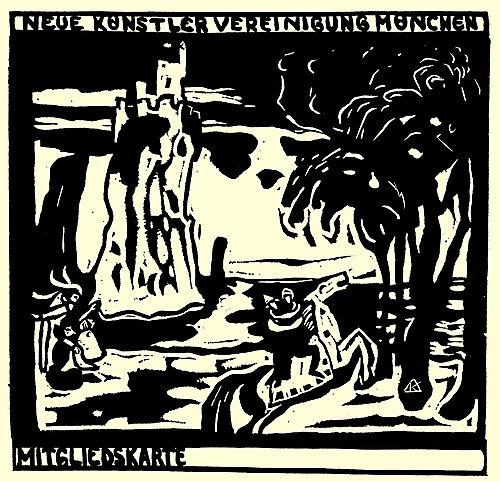 Wassily Kandinsky: Felsen