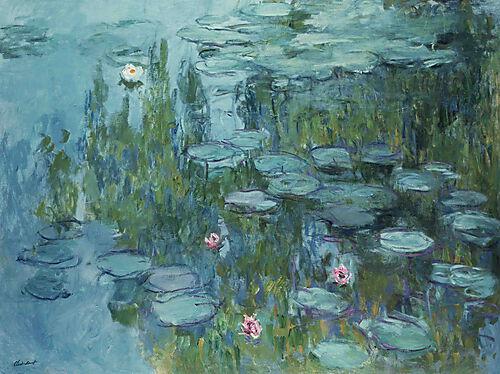 Cloude Monet, Seerosen