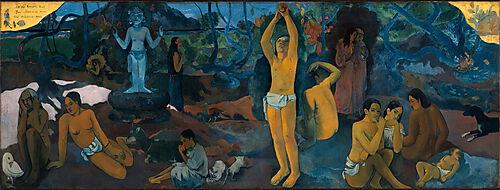 Paul Gauguin, D'où venons-nous? Que sommes-nous? Où allons-nous?