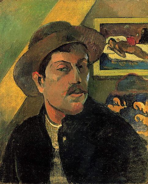 Paul Gauguin, Selbstporträt