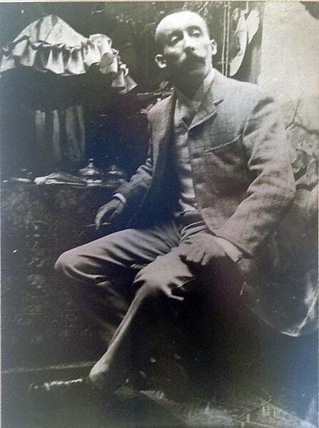 Fotografie, Paul Gauguin, Rue de la Grande Chaumiere