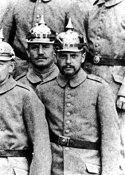 Fotografie, Paul Klee als Soldat