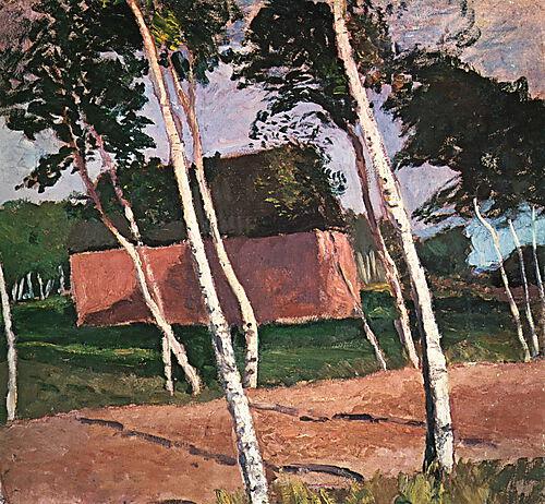 Paula Modersohn-Becker, Worpsweder Landschaft