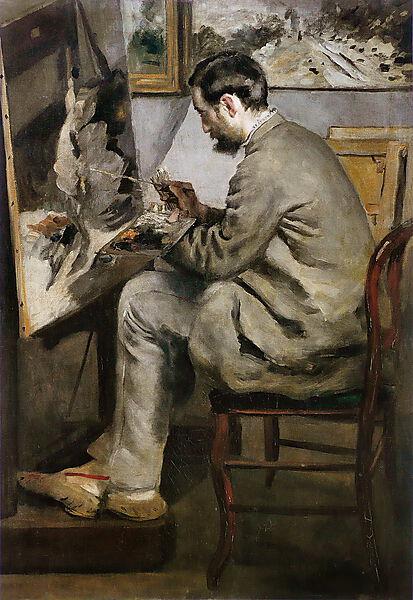 Pierre-Auguste Renoir, Frédéric Bazille