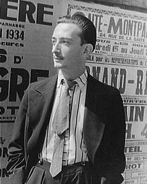 Salvador Dalí, Fotograf Carl van Vechten