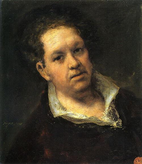Francisco de Goya, Selbstportrait