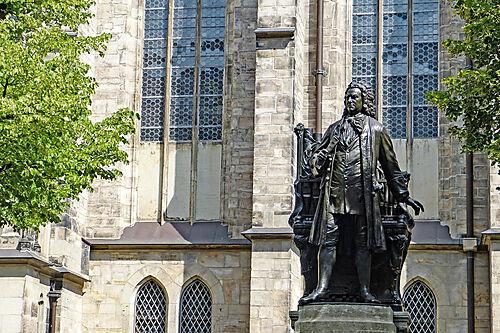 Statue Johann Sebastian Bach